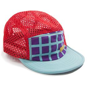 Topo Designs Sport Cap, turquoise grid